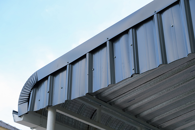 Metal Roofing Systems Installation : Commercial metal roof installation near rochester jml
