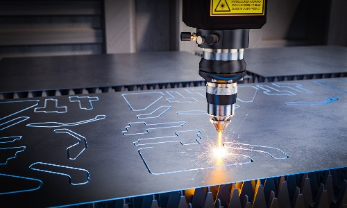 A laser can be used to cut sheet metal, just one of many facts about this adaptable material.